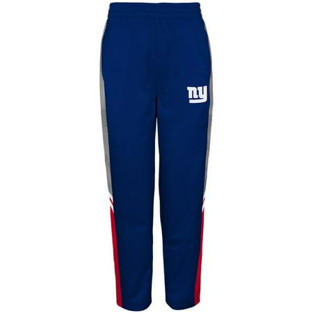 Youth Royal New York Giants Team Fleece Pants
