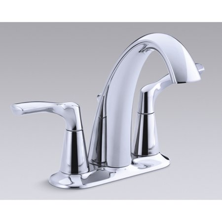 "Kohler R37024-4D1-CP 4"" Polished Chrome Mistos® Two Handle Centerset Lavatory Faucet"