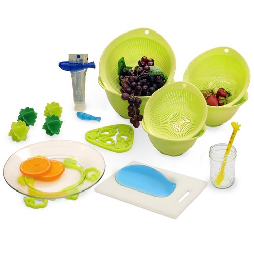 Richell 15 Piece Housewarming Gift Set