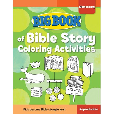 Big Book of Bible Story Coloring Activities for Elementary Kids - Halloween Writing Activities Elementary