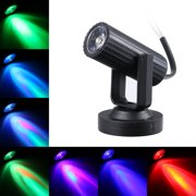 AC85-265V 1W LED Mini Spot Lamp Stage Lighting Fixture Portable for Home Party Decoration Deco DJ Show Bar Pub Concert