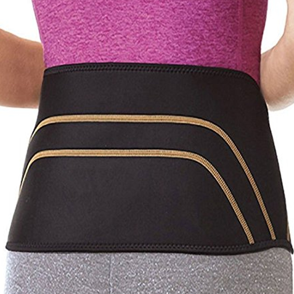 New Comfortable Copper Compression Recovery Back Brace Waist Support Belt Lower Back Lumbar Wrap