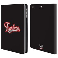 OFFICIAL WWE NIKKI BELLA LEATHER BOOK WALLET CASE COVER FOR APPLE IPAD