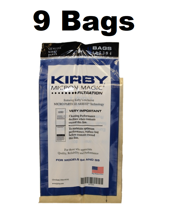 Kirby Micron Magic Bag 9 pack 197394