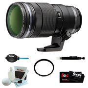 Olympus M.40-150mm F2.8 PRO Lens (Black) with Deluxe Accessory Bundle