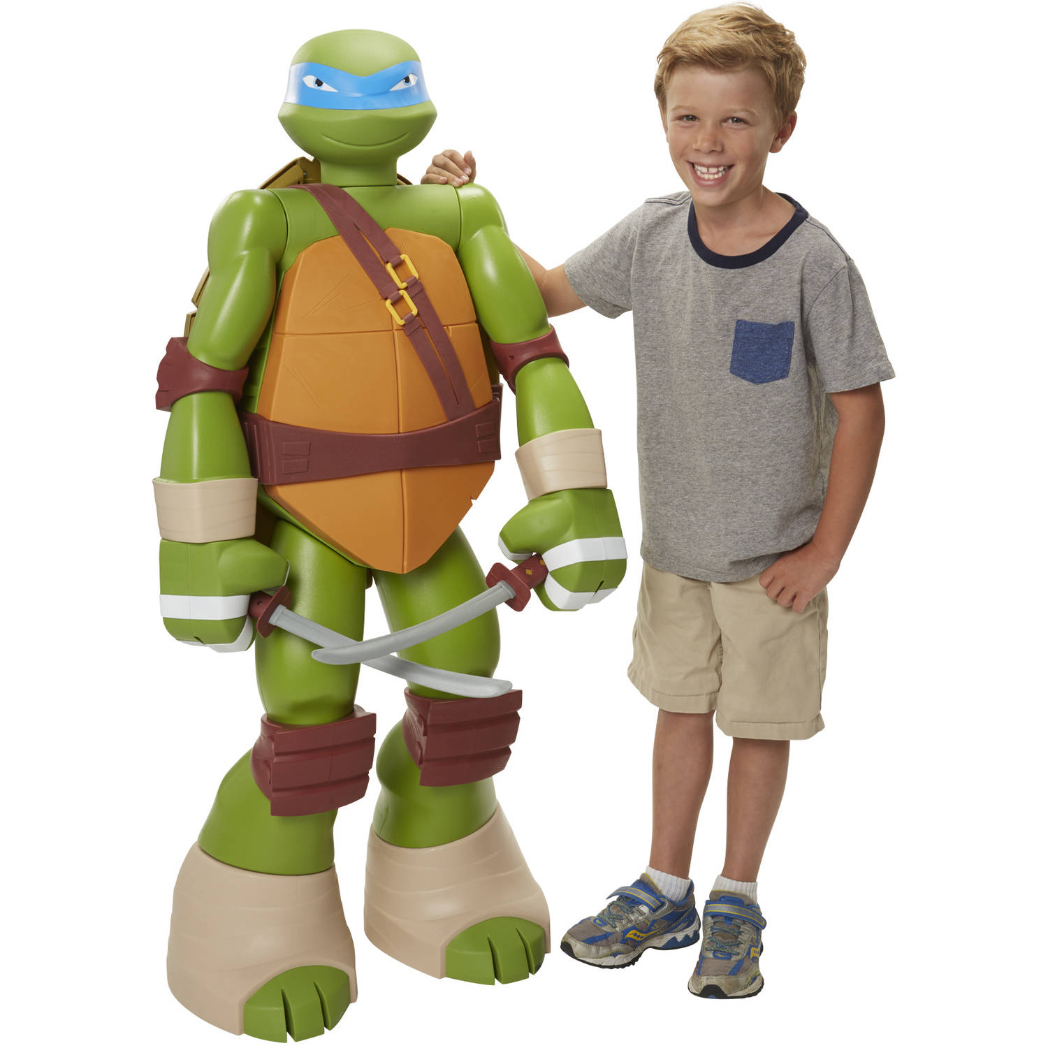"Nickelodeon Teenage Mutant Ninja Turtles 48.5"" Figure, Leonardo"