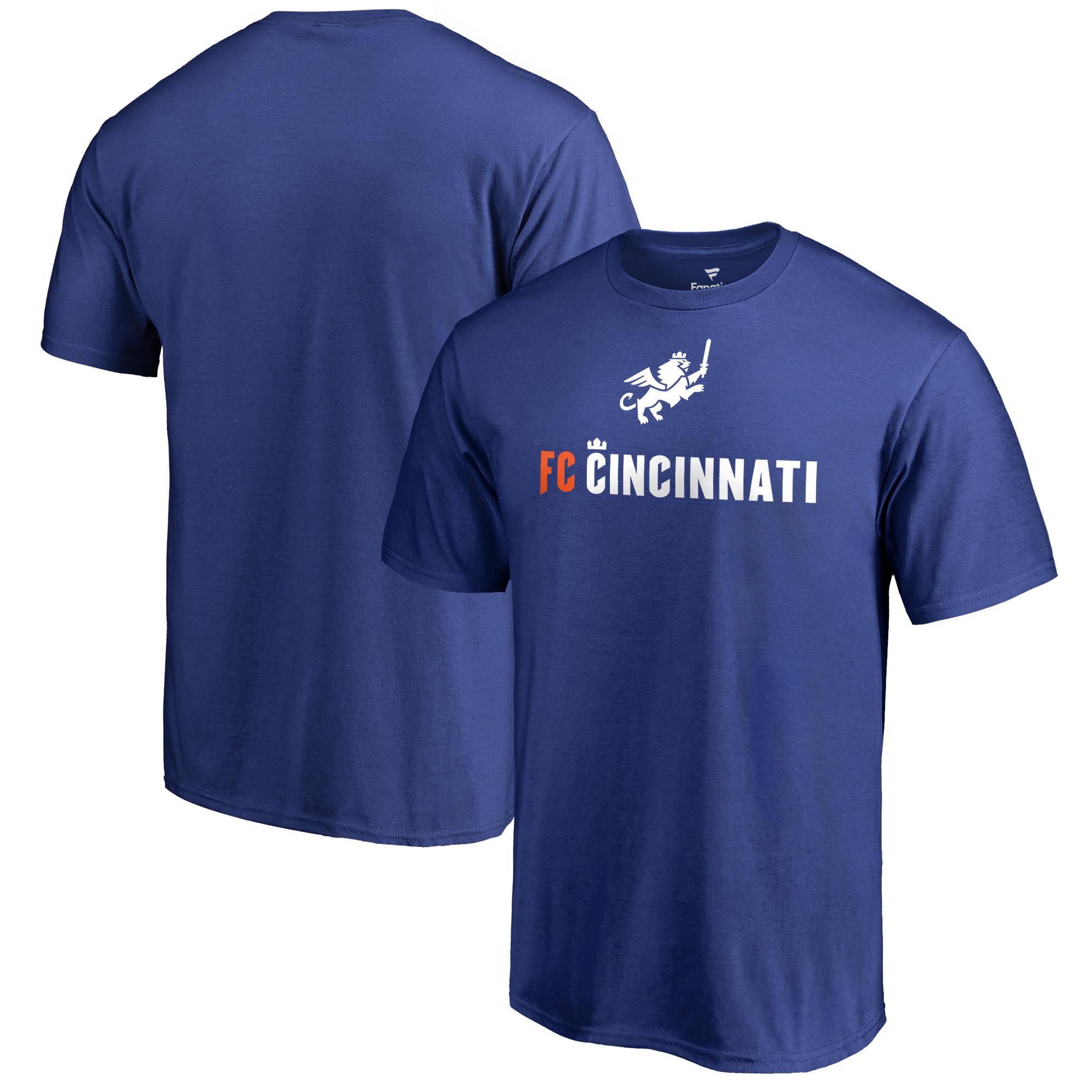 FC Cincinnati Fanatics Branded Victory Arch Big & Tall T-Shirt - Royal