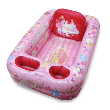 Ginsey Inflatable Bathtub, Disney Princess