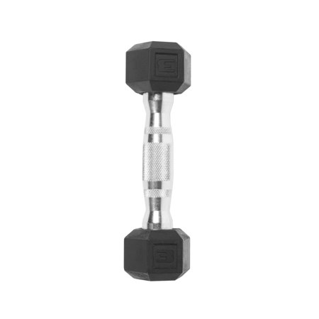 CAP Barbell Coated Hex Dumbbell, Single 3lbs