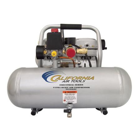 California Air Tools 2010ALFCAD Ultra Quiet & Oil-Free 1.0 Hp, 2.0 Gal. Aluminum Tank Air Compressor