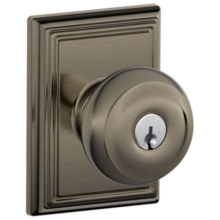 Schlage F51 Geo Add Georgian Keyed Entry F51a Panic Proof