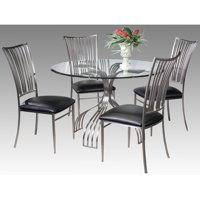 Chintaly Ashtyn 5 Piece Dining Table Set
