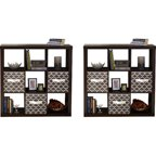 Better Homes And Gardens 9 Cube Storage With 4 Collapsible Fabric Storage Cubes Mix And Match
