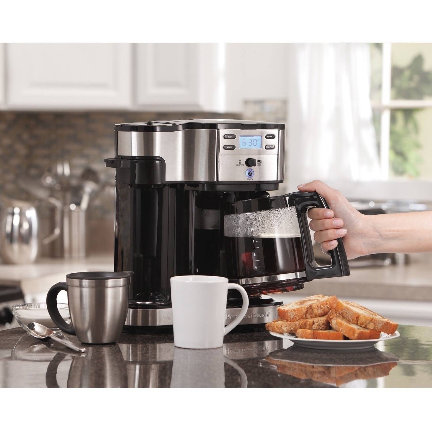 Hamilton Beach 2 Way Brewer Model 49980z Walmartcom
