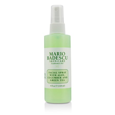 Mario Badescu Facial Spray With Aloe, Cucumber And Green Tea - For All Skin Types 118ml/4oz - Green Skin
