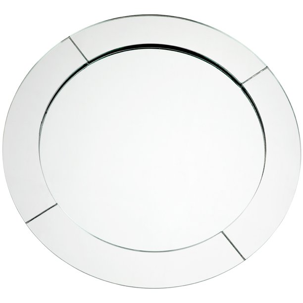 Koyal Whole Mirror Charger Plates, Mirrored Charger Plates Bulk