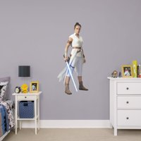 Fathead Rey - Star Wars: The Rise of Skywalker - Giant Officially Licensed Removable Wall Decal
