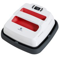 """Gymax 9""""x 9"""" Portable Heat Press Laundry Machine Quick-Heating Iron-on Transfer Household T-Shirt Press  Red"""