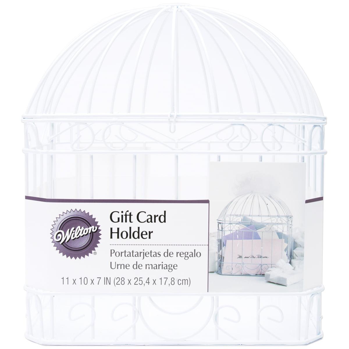 """Wilton Gift Card Holder 10""""X7""""X12""""-Bird Cage"""