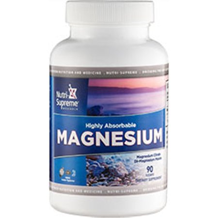 Research Magnesium (Nutri-Supreme Research Kosher Magnesium Citrate/Malate - 90 Tablets )