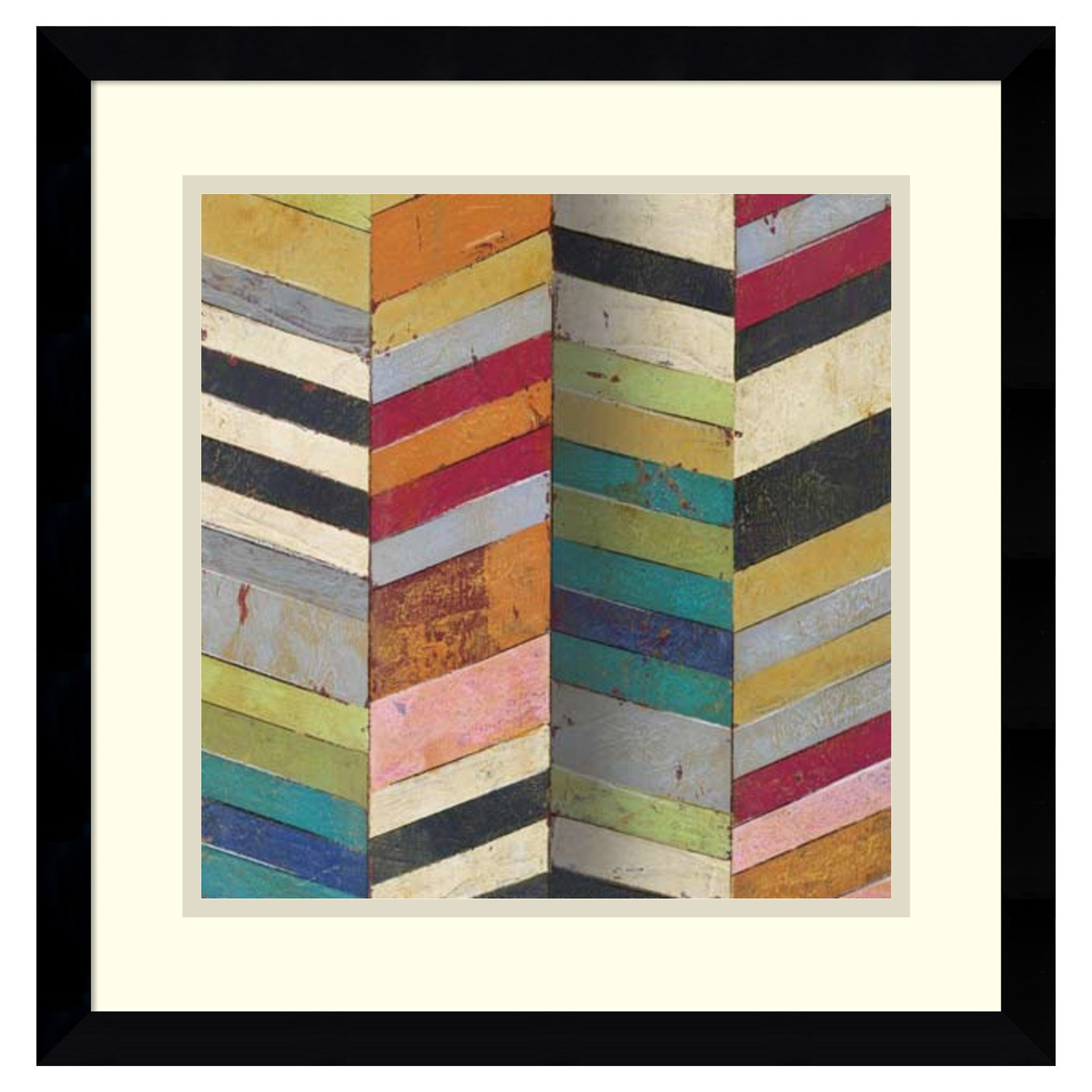Amanti Art Framed Print - Racks and Stacks II by Susan Hayes