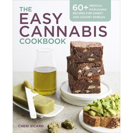 The Easy Cannabis Cookbook (Paperback) - Halloween Marijuana Edibles