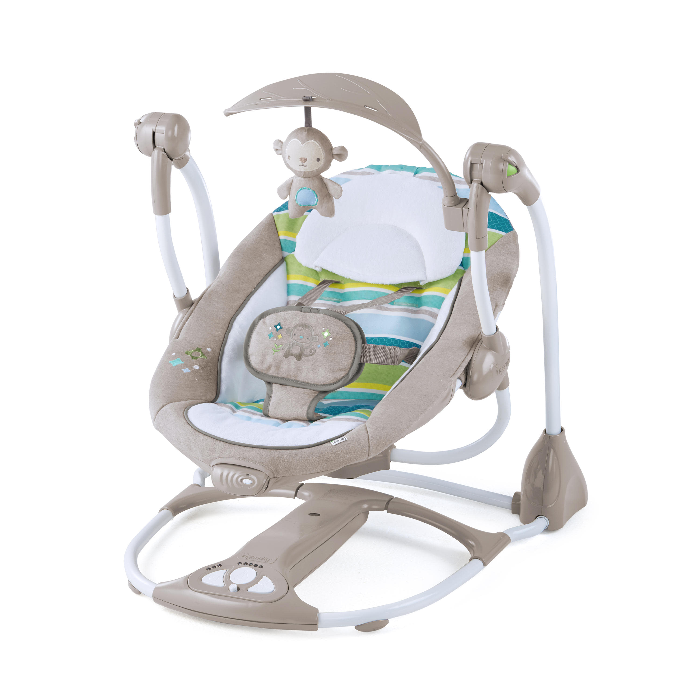 Ingenuity ConvertMe Swing-2-Seat Portable Swing - Moreland