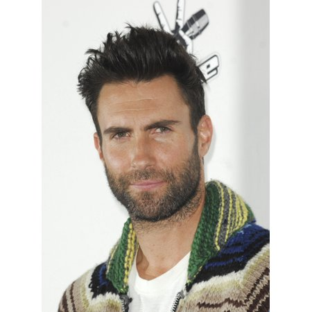 Adam Levine At Arrivals For The Voice Season 7 Red Carpet Photo Op Hyde Sunset Los Angeles Ca December 8 2014 Photo By Elizabeth GoodenoughEverett Collection Photo Print