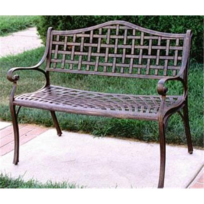 Oakland Living 1103-AB Elite Settee - Antique Bronze