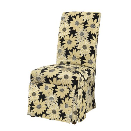 Powell Furniture Parson Chair Skirted Slipcover Walmart Com