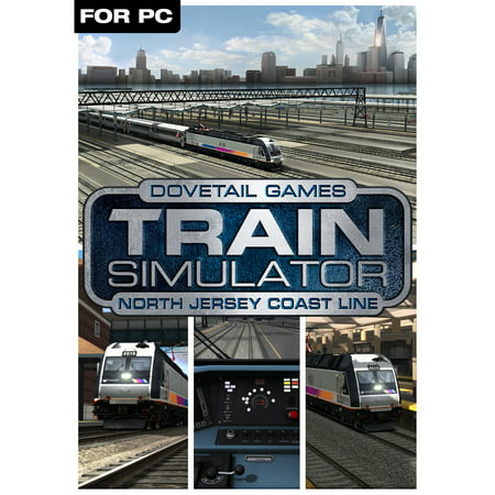 Train Simulator Add-On - North Jersey Coast Line Route (PC)(Digital (Phone Line Simulator)
