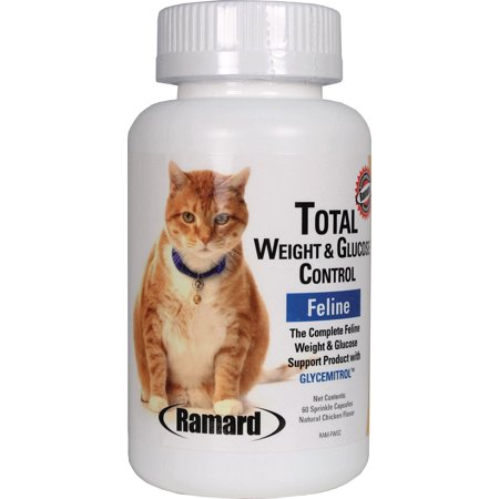 - TOTAL WEIGHT AND GLUCOSE FELINE SPRINKLE CAPSULES