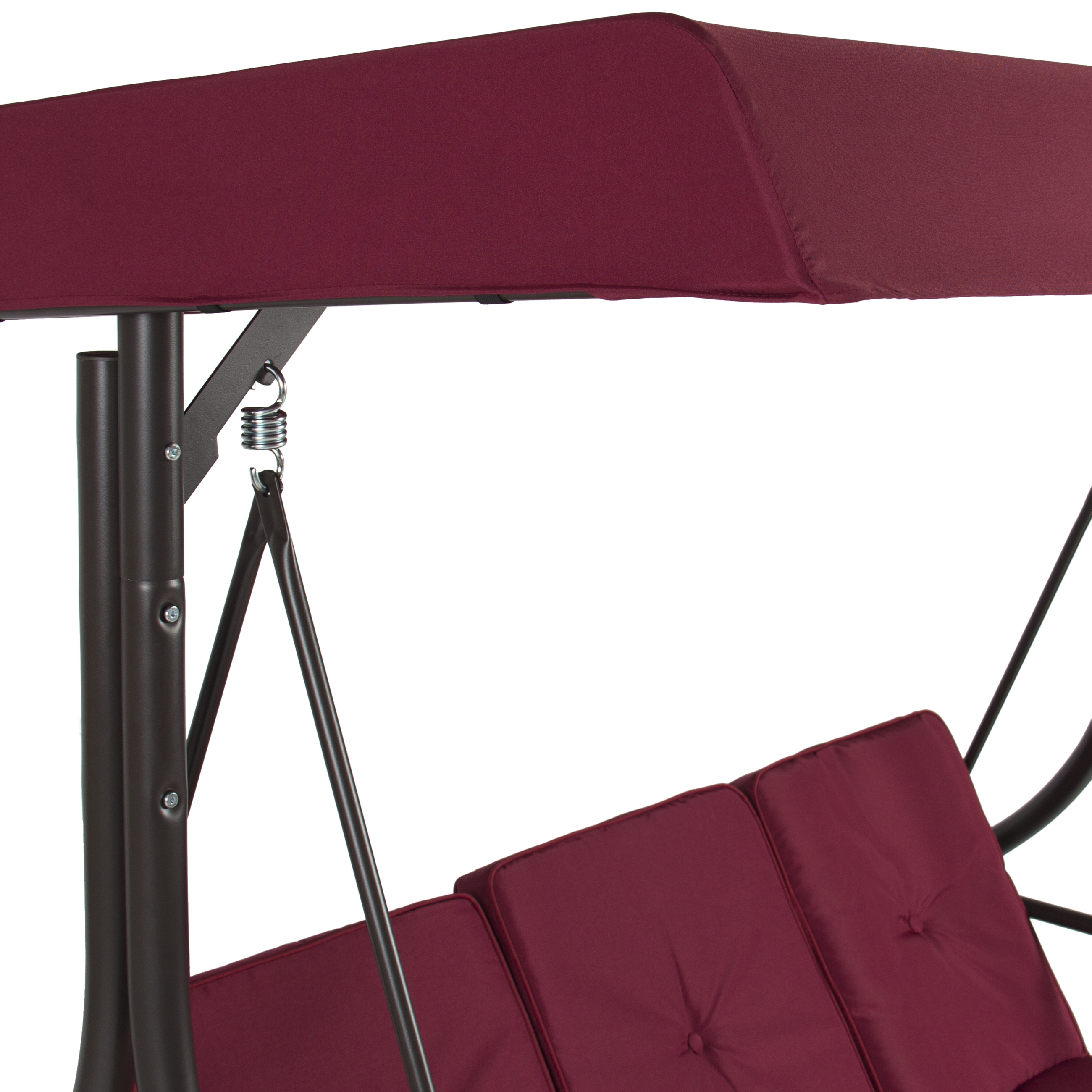 Best Choice Products 3 Seat Patio Porch Swing Walmart Com