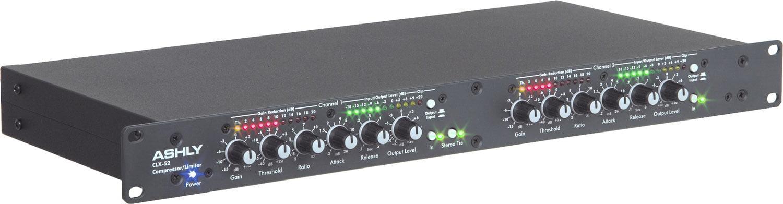 Ashly CLX-52 Stereo Dual Peak Compressor Limiter by Ashly