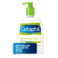 Cetaphil Moisturizing Lotion for All Skin Types, Fragrance-Free, 20 fl oz
