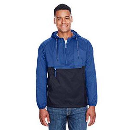 Packable Nylon Jacket - Harriton Adult Packable Nylon Jacket
