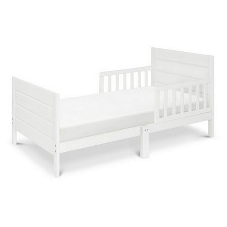 DaVinci Modena Toddler Bed in White (Da Vinci Bed Rail)