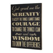 Wilco Home Inspire Me ''The Serenity Prayer'' Framed Textual Art