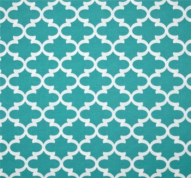 Jordan Manufacturing, Outdoor Spun Polyester Fabric by the Yard, Fulton Ocean
