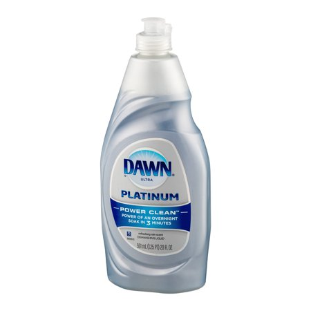 dawn platinum power clean dishwashing liquid refreshing rain 18 oz best dish soap. Black Bedroom Furniture Sets. Home Design Ideas