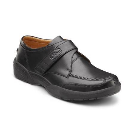 Dr. Comfort Frank Men's Therapeutic Diabetic Extra Depth Dress Shoe: Black 6 Medium (B/D) (Best Shoes For Diabetics)