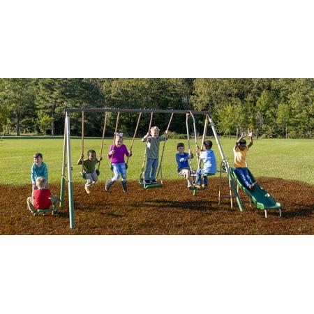 XDP Recreation Crestview Metal Swing Set ()