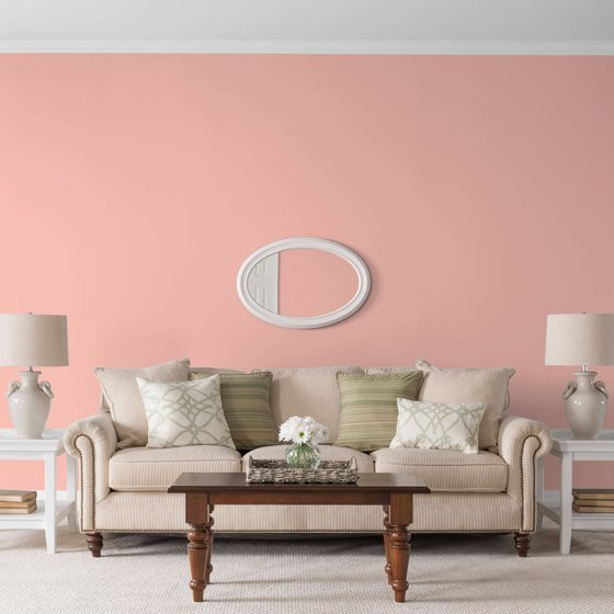 Glidden High Endurance, Interior Paint and Primer, Coral Flower ...