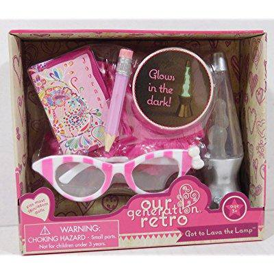 Doll Lamp - Our Generation 18 Doll Accessories - Got to Lava the Lamp