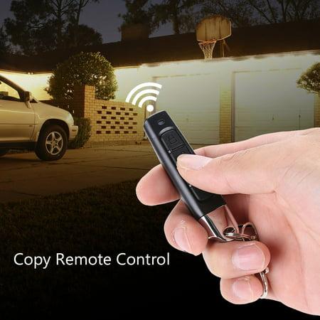 WALFRONT 433MHz Garage Door Copy Remote Controller Universal Car Alarm  Cloning Duplicator Lock, 433Mhz Remote Control, Cloning Remote Control