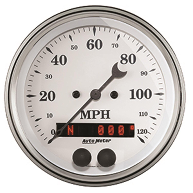 Auto Meter 1649 Speedometer  - 0 - 120 MPH - Electronic -...