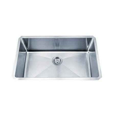 KRAUS Standart PRO? 30-inch 16 Gauge Undermount Single Bowl Stainless Steel Kitchen Sink