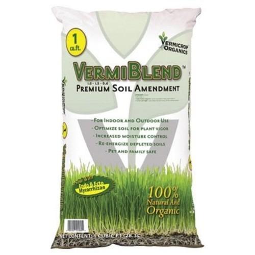 Vermicrop VCBPVB VermiBlend Soil Amendment Bag, 1 cu. ft.