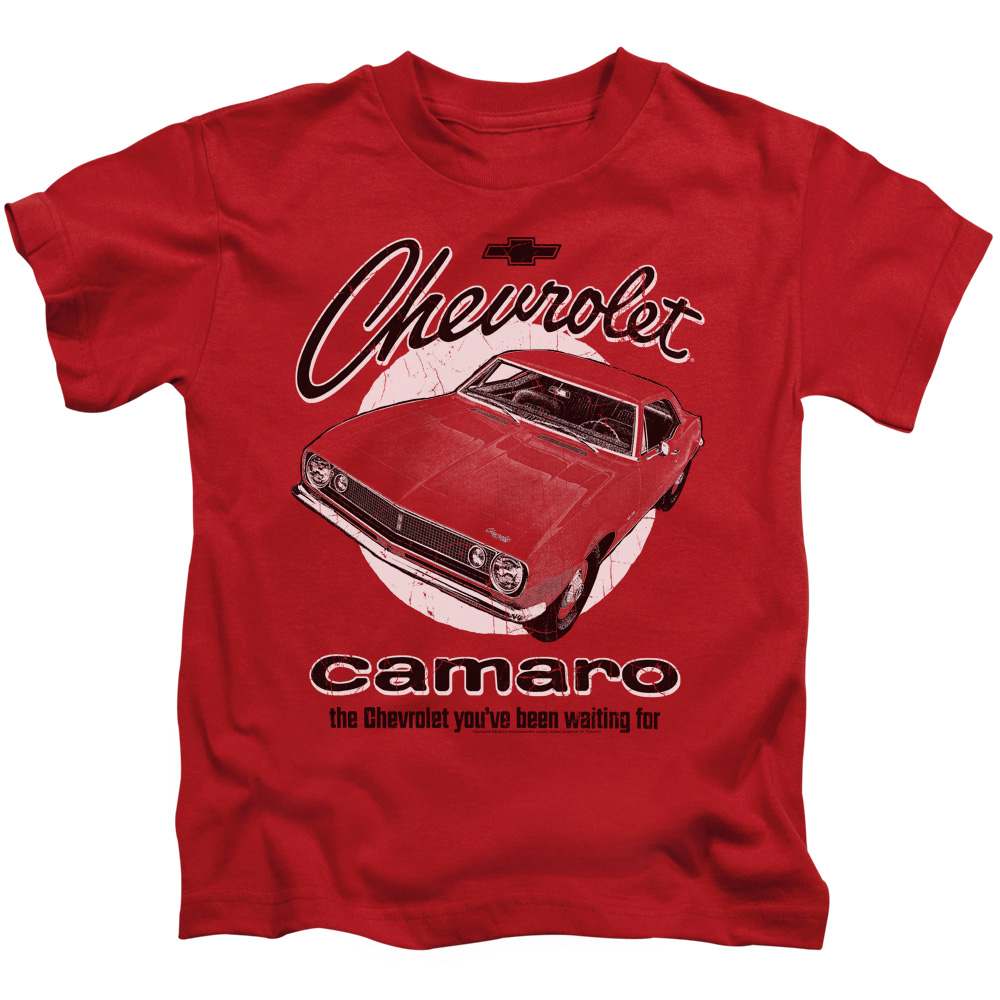 Chevy Retro Camaro Little Boys Shirt