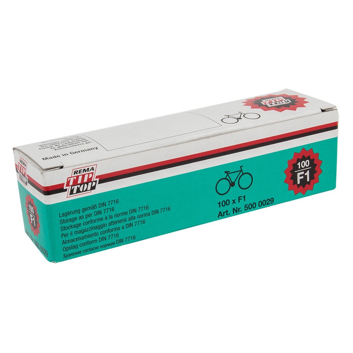 Rema, Round Patch 25 mm Box of 100